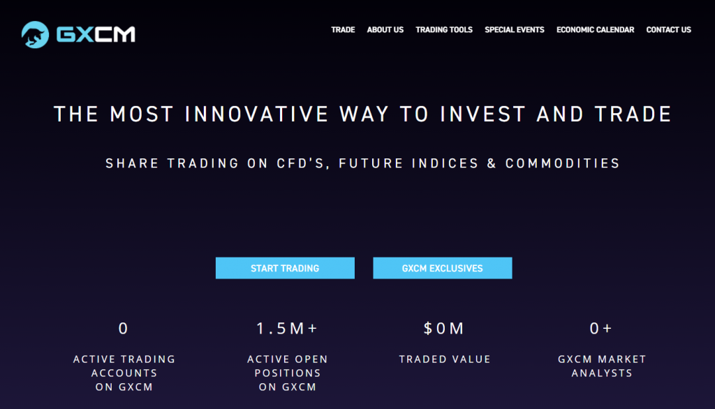 trading with GXCM