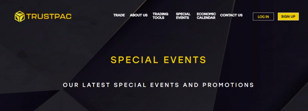 Trustpac special events