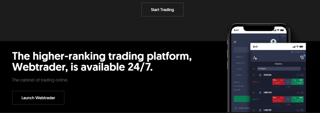 lobal Solution FX trading with WebTrader